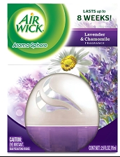 AIR WICK AROMA SPHERE Air Freshener  Lavender  Chamomile Discontinued Photo