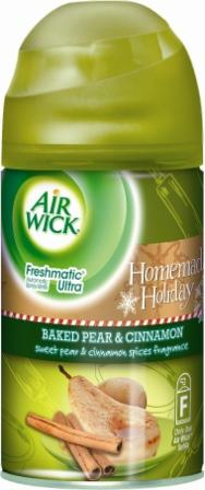 AIR WICK FRESHMATIC  Baked Pear  Cinnamon Discontinued Photo