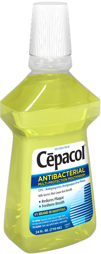 CEPACOL Antibacterial MultiProtection Mouthwash Photo