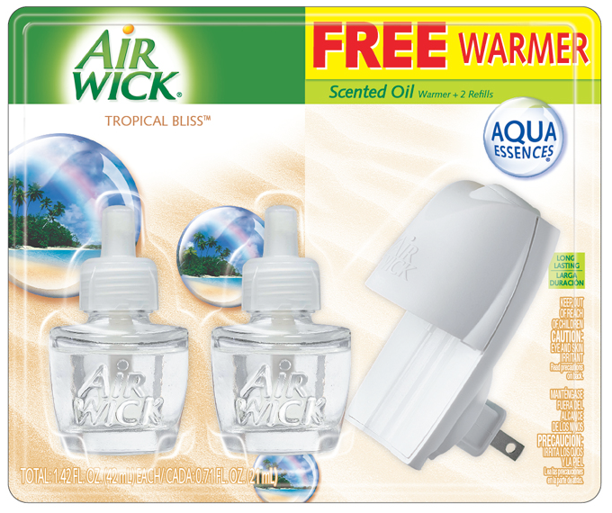 AIR WICK Scented Oil Starter Kit  Tropical Bliss Photo