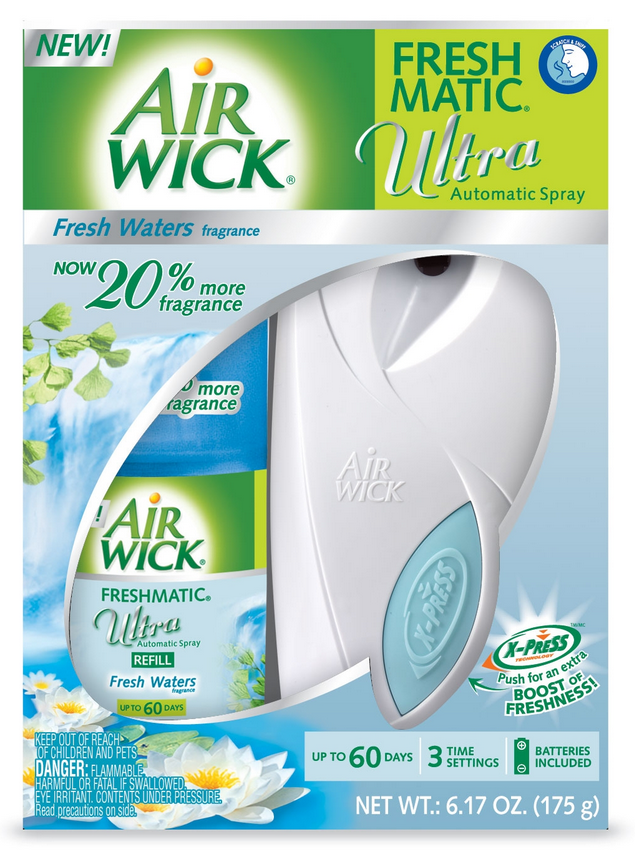 AIR WICK® FRESHMATIC Ultra Starter Kit - Fresh Waters