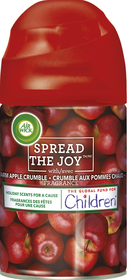 AIR WICK® FRESHMATIC - Warm Apple Crumble (Spread The Joy™) (Canada)