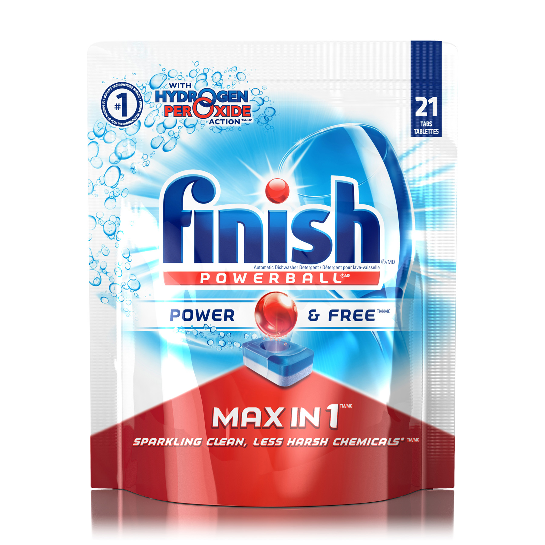 FINISH® Powerball® Max In 1™ Power & Free Tablets (Canada)