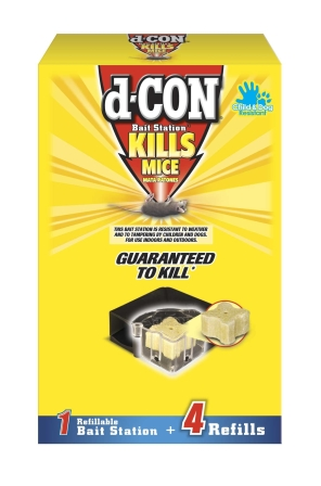 d-CON® Bait Station XI - Refillable