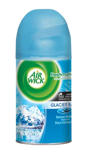 AIR WICK FRESHMATIC  Glacier Bay National Parks Discontinued Photo
