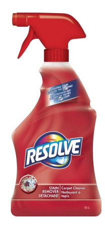 RESOLVE Stain Remover Carpet Cleaner Canada Photo