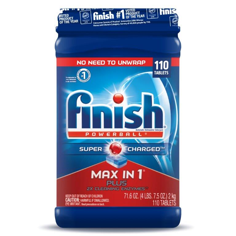 FINISH® Powerball® Max In 1™ Plus Tabs