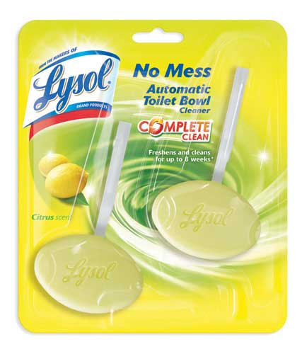 LYSOL® No Mess Automatic Toilet Bowl Cleaner - Citrus