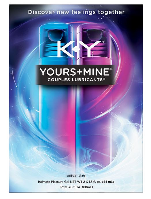 K-Y® Yours + Mine Couples Lubricants® - Hers