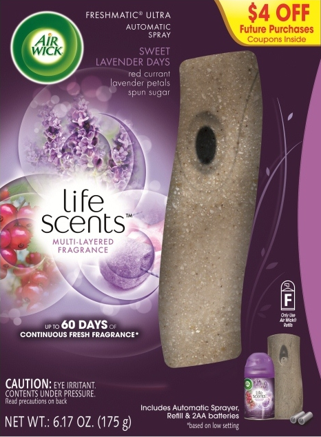 AIR WICK FRESHMATIC  Sweet Lavender Days  Kit Discontinued Photo