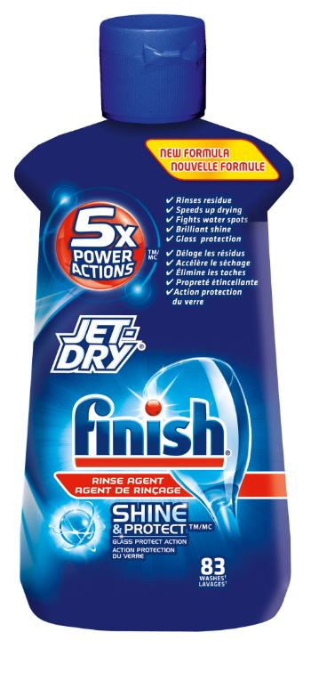 FINISH JetDry Rinse Aid  Original Canada Photo
