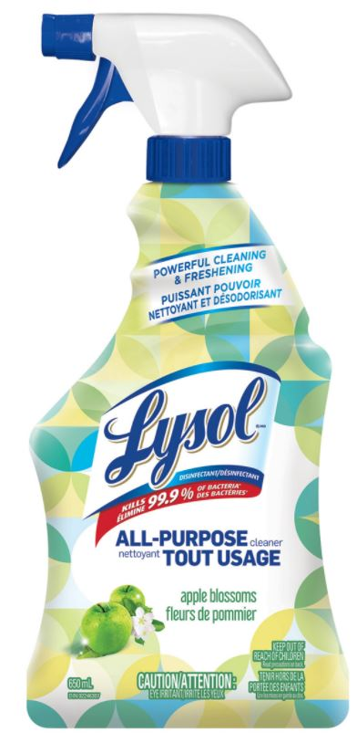 LYSOL® All-Purpose Cleaner - Apple Blossoms (Canada)