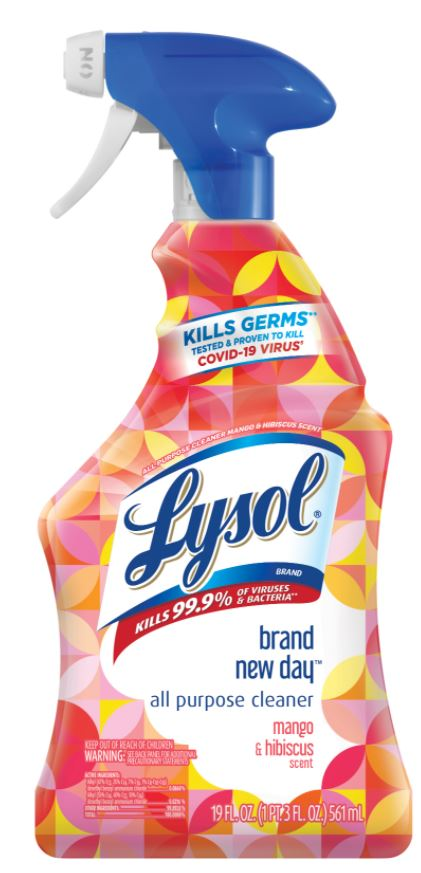 LYSOL® All Purpose Cleaner - Brand New Day™ - Mango & Hibiscus