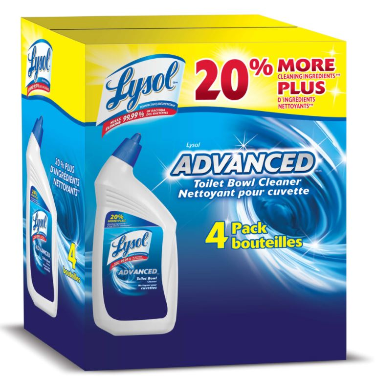 LYSOL® Click Gel Automatic Toilet Bowl Cleaner - Lemon Breeze