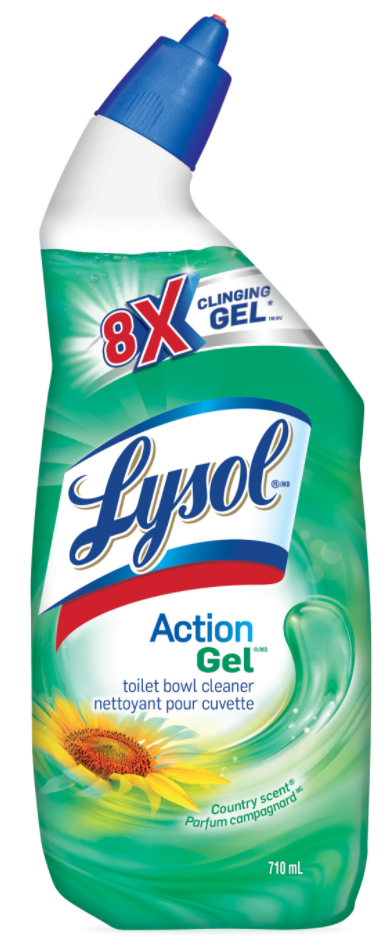 LYSOL® Action Gel Toilet Bowl Cleaner - Country (Canada)