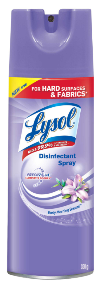 LYSOL® Disinfectant Spray - Early Morning Breeze (Canada)