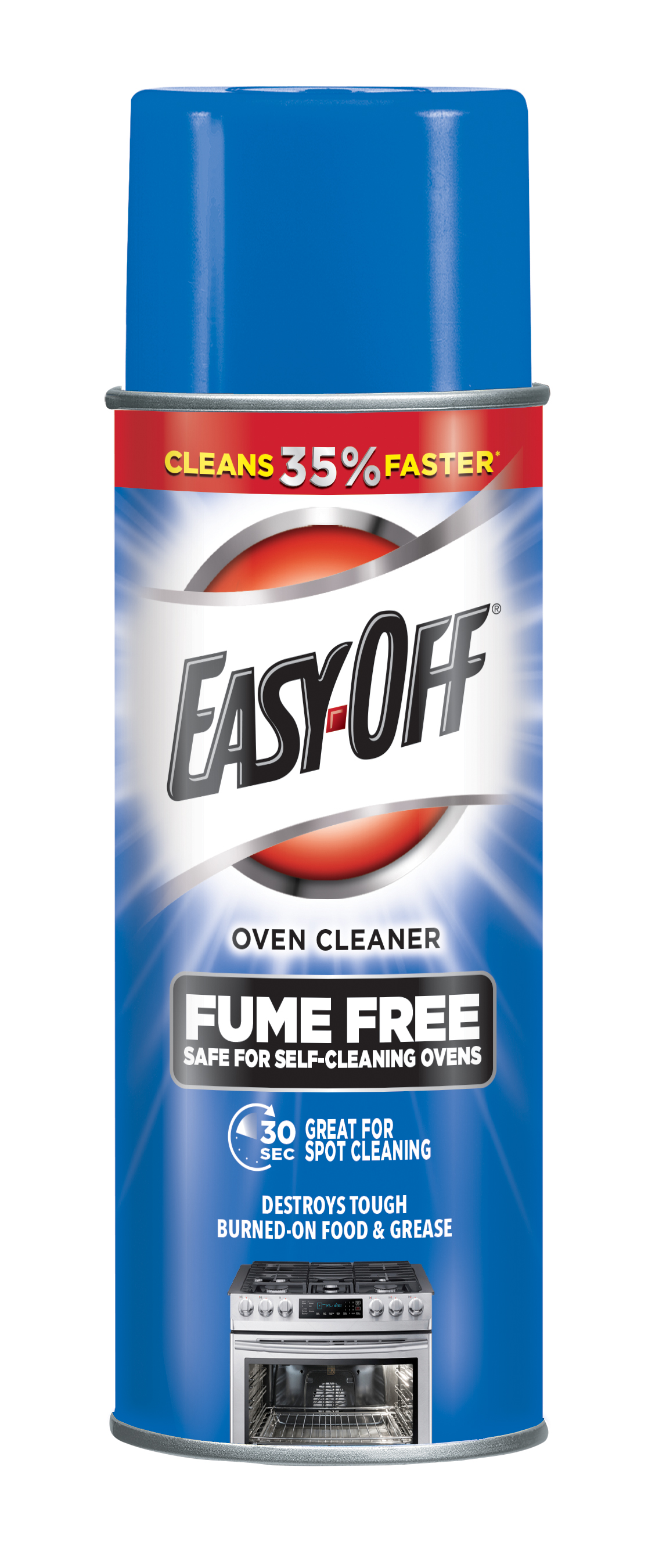EASY-OFF® Fume Free Max Oven Cleaner Aerosol - Lemon Scent