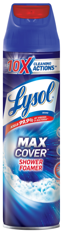 LYSOL Max Cover Shower Foamer Photo