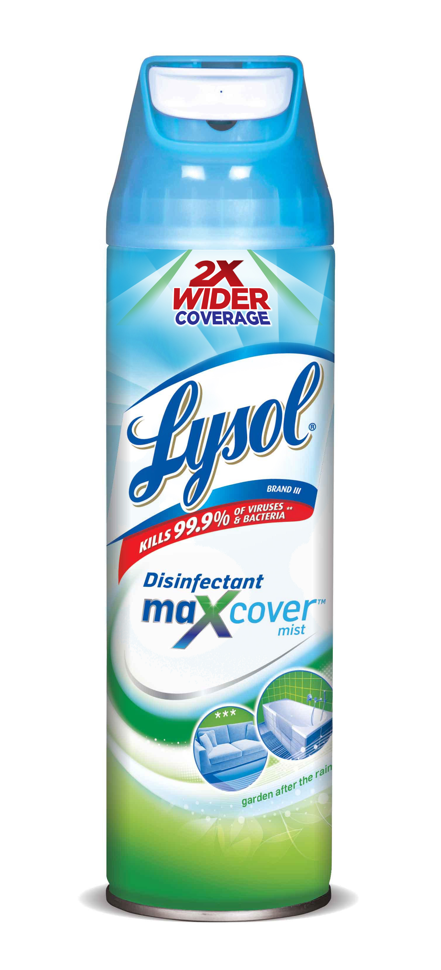 LYSOL® Disinfectant Max Cover Mist - Garden after the Rain