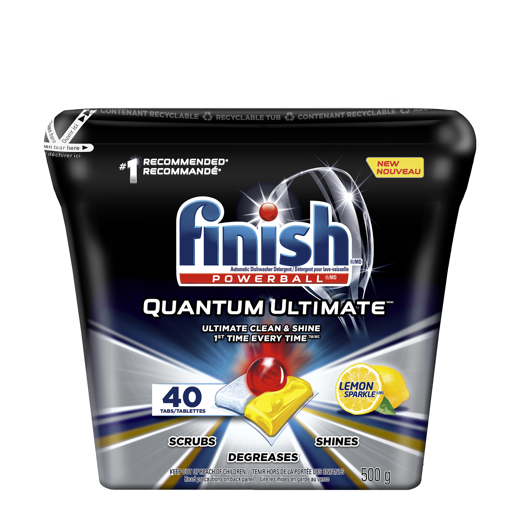 FINISH® Powerball® Quantum Ultimate - Lemon (Canada)