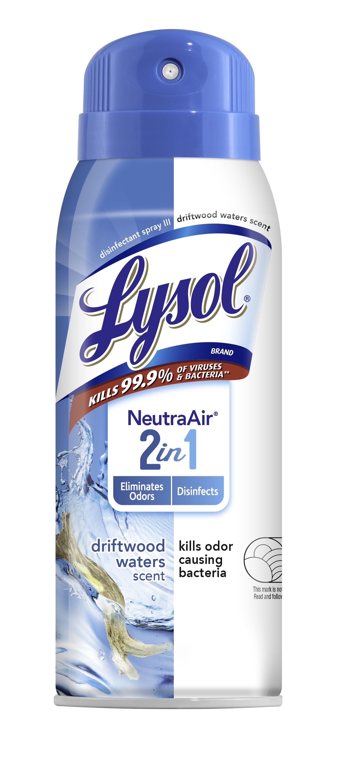 Lysol Disinfectant Spray  Neutra Air  2 in 1  Driftwood Waters Photo