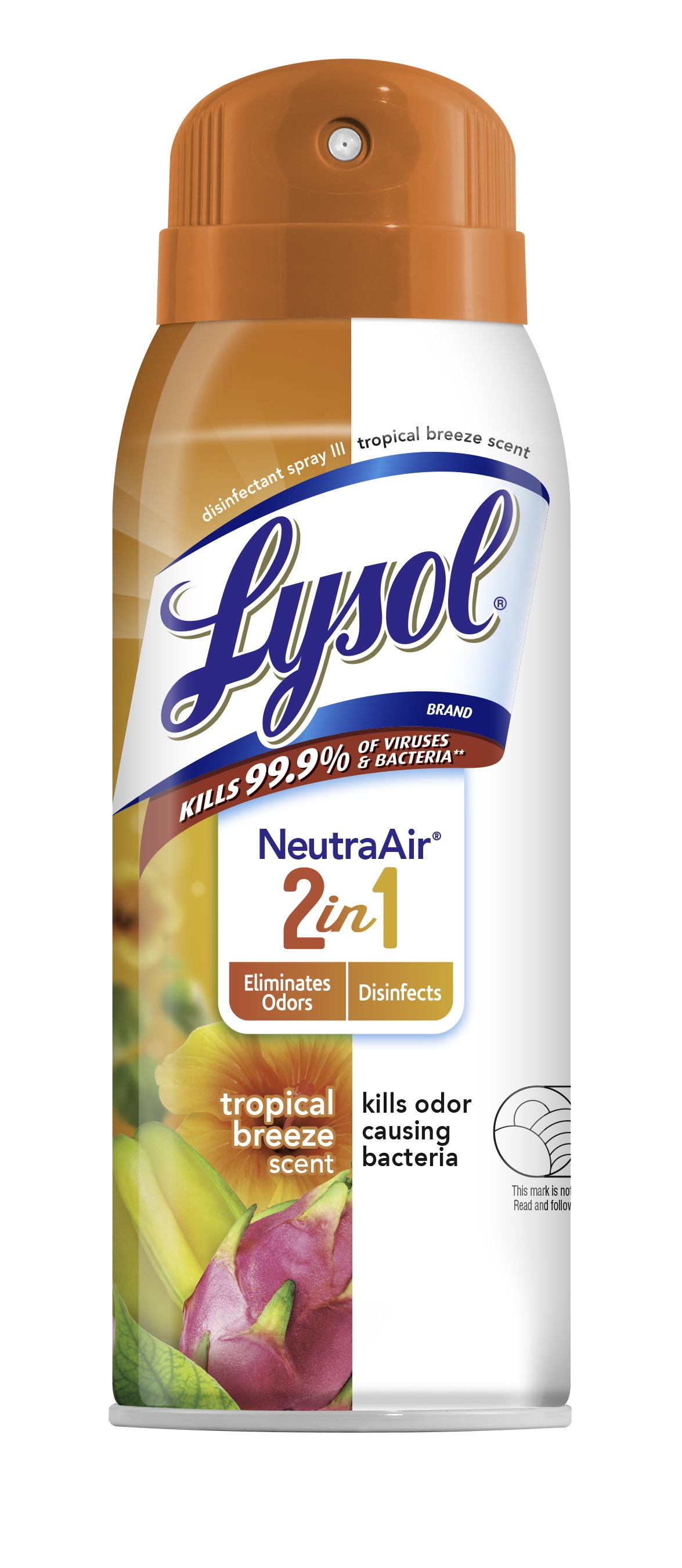 Lysol® Disinfectant Spray - Neutra Air®  2 in 1 - Tropical Breeze