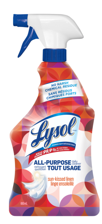 LYSOL® All-Purpose Daily Cleaner - Sun-Kissed Linen (Canada)