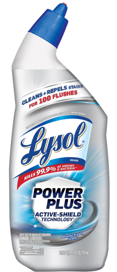LYSOL® Power Plus Active-Shield Technology - Atlantic Fresh Scent