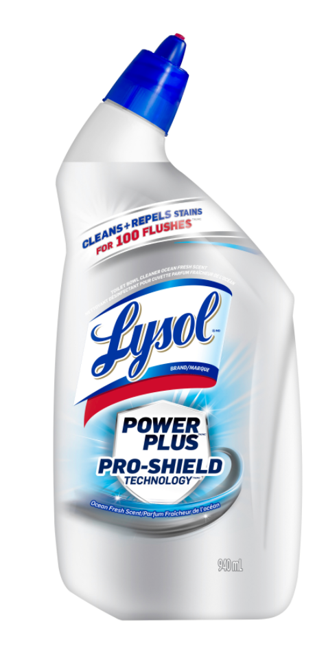 LYSOL® Power Plus Pro-Shield - Ocean Fresh (Canada)