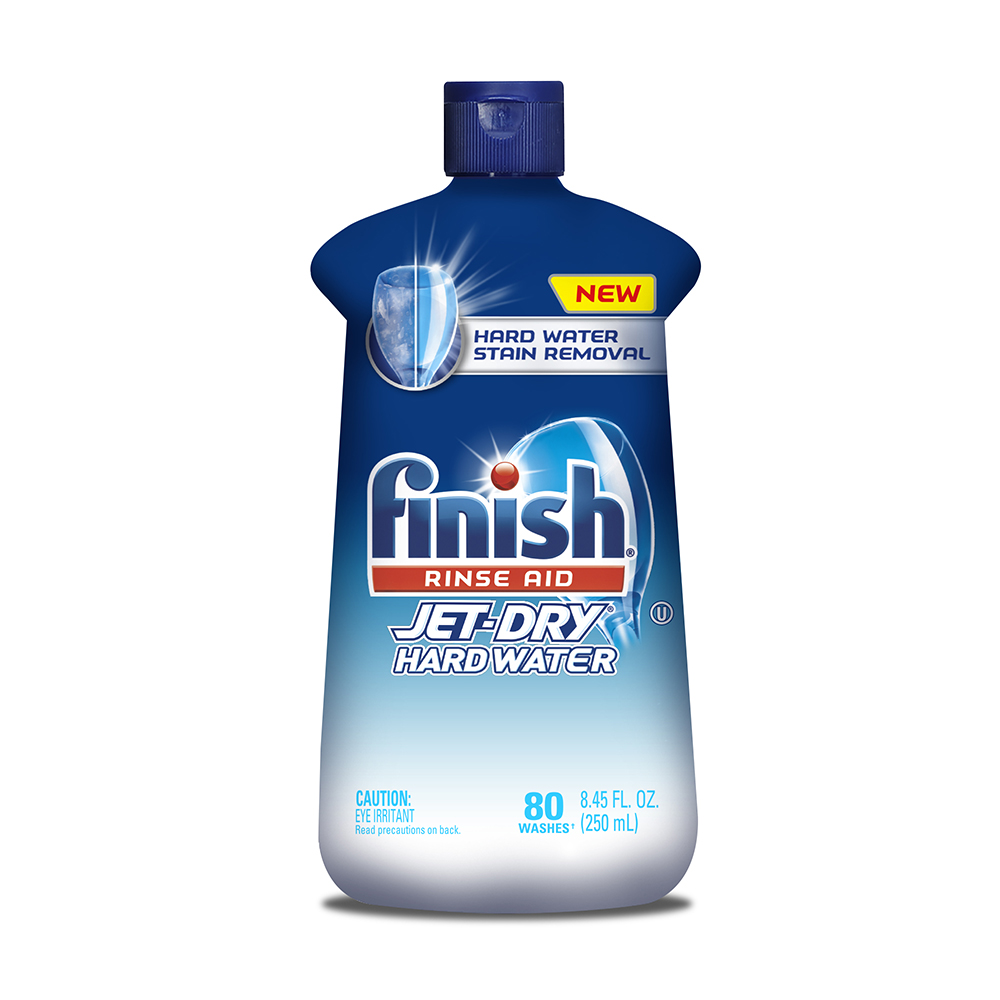 FINISH® Jet-Dry® Rinse Agent - Liquid Hardwater Protection