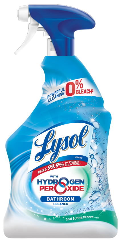 LYSOL® Hydrogen Peroxide Bathroom Cleaner - Cool Spring Breeze