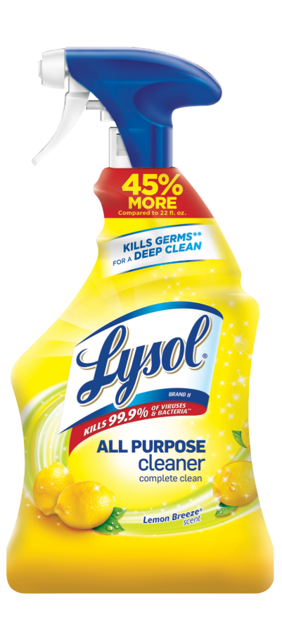 LYSOL All Purpose Cleaner  Lemon Breeze Discontinued Feb 1 2020 Photo