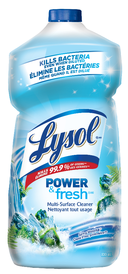 LYSOL® Power & Fresh™ Multi-Surface Cleaner - Pourable - Spring Waterfall (Canada)