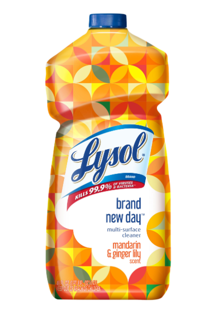 LYSOL® Multi-Surface Cleaner - Brand New Day™ - Mandarin & Ginger Lily