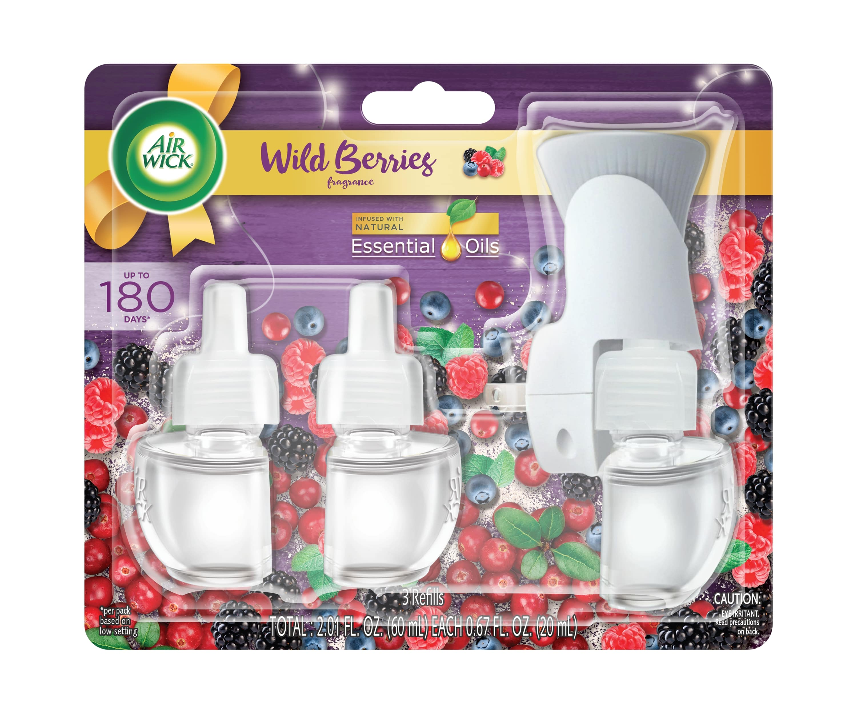 AIR WICK® Scented Oil - Wild Berries - Kit