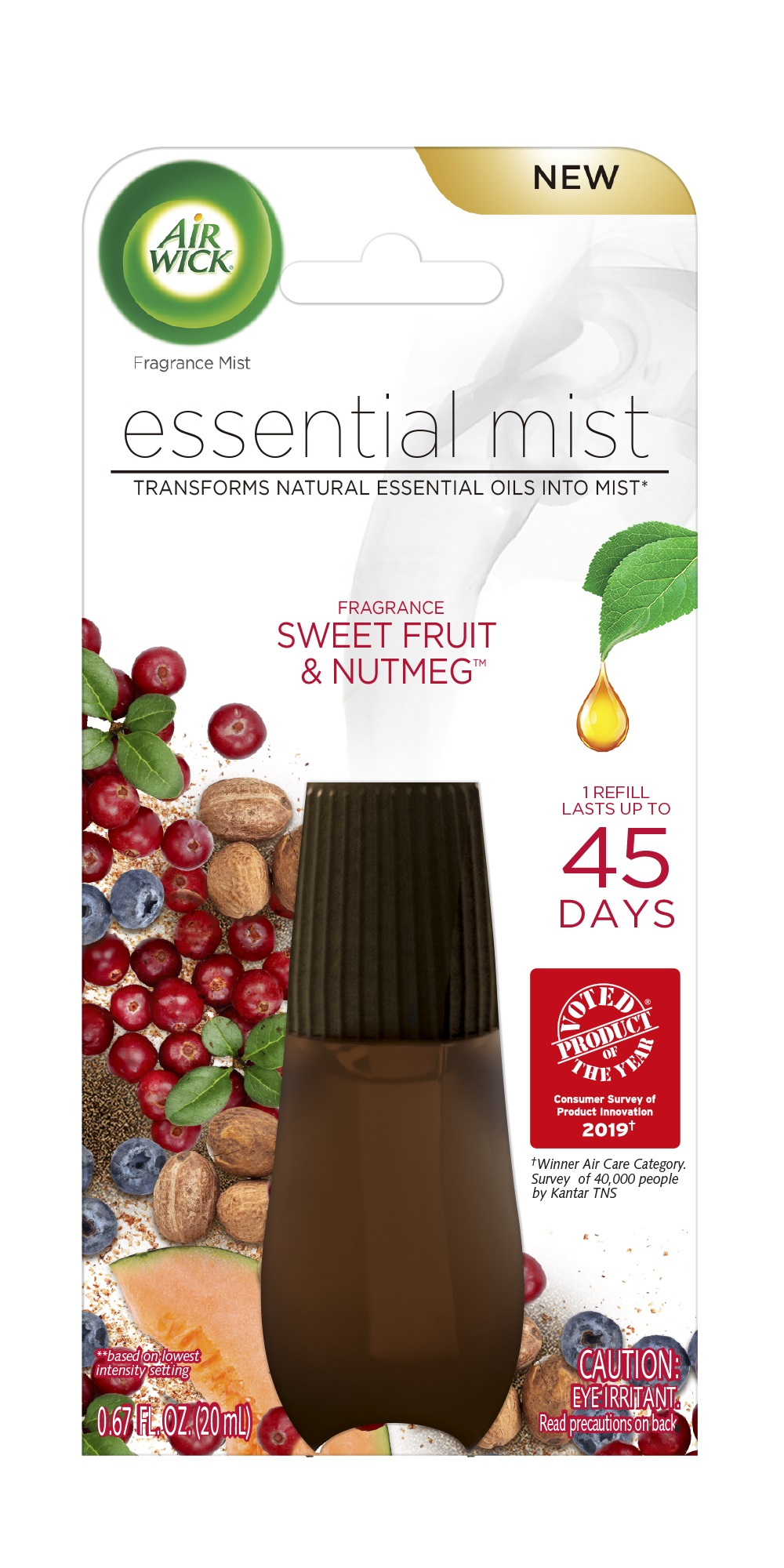 AIR WICK Essential Mist  Sweet Fruit  Nutmeg Photo