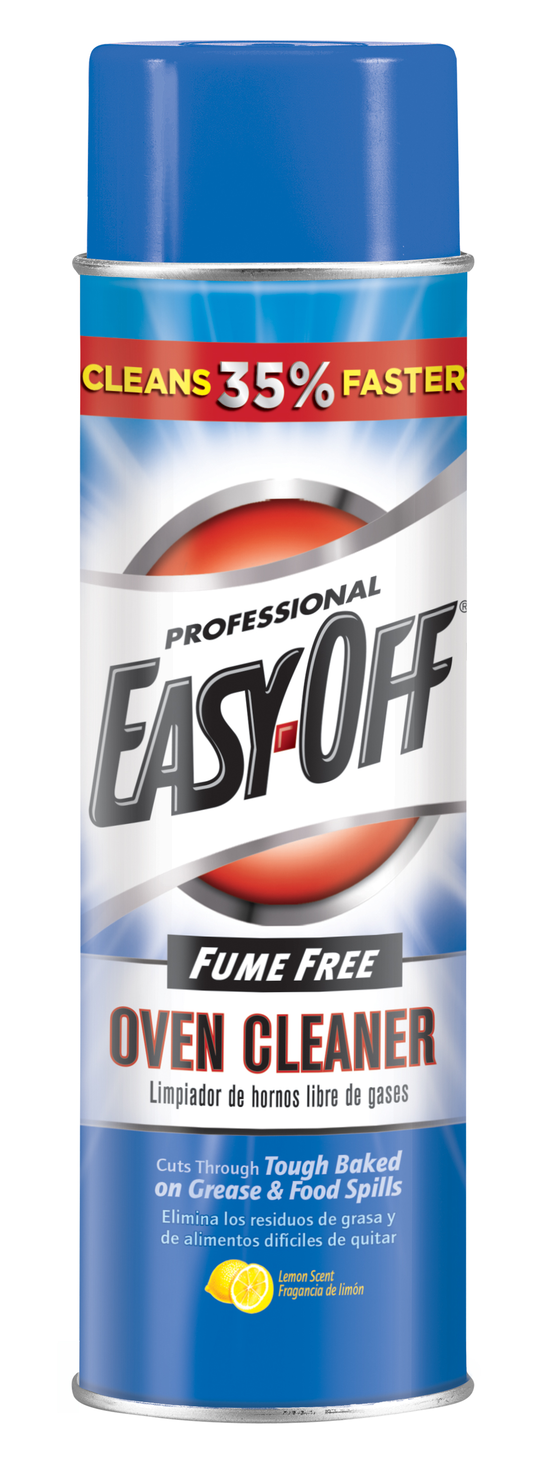 Professional EASY-OFF® - Fume Free Oven Cleaner Aerosol - Lemon Scent
