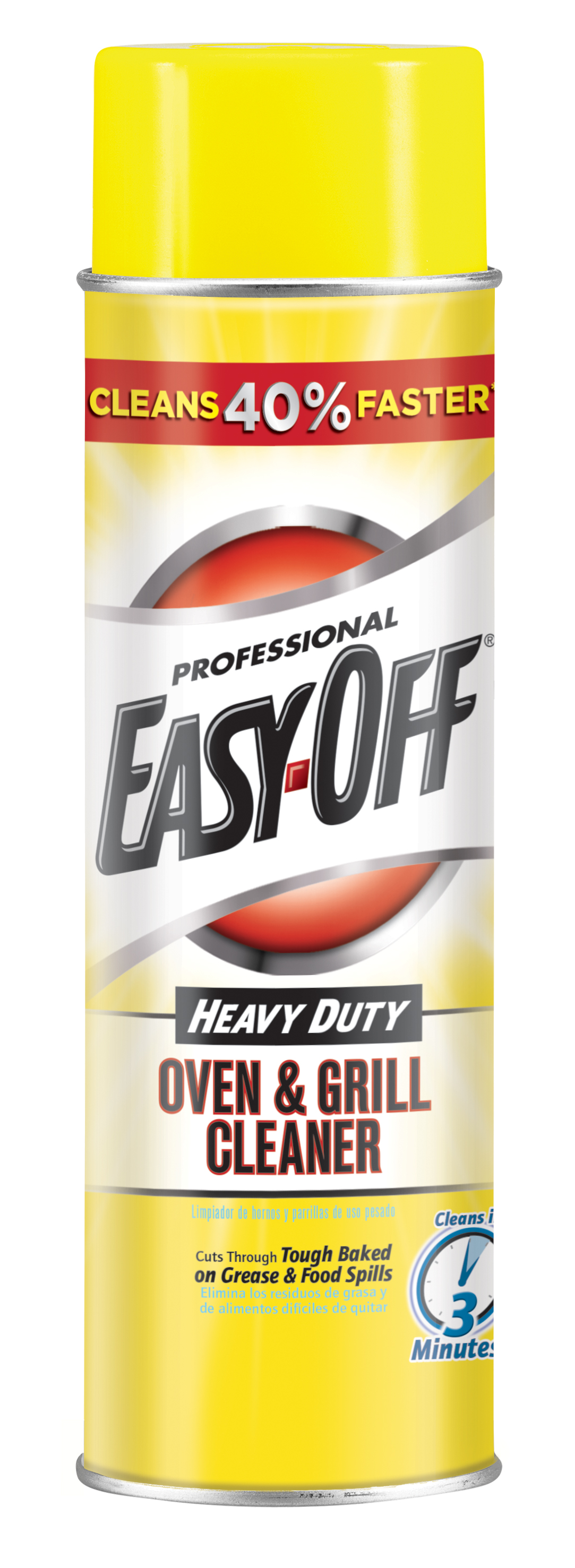 Professional EASY-OFF® - Heavy Duty Oven & Grill Cleaner Aerosol