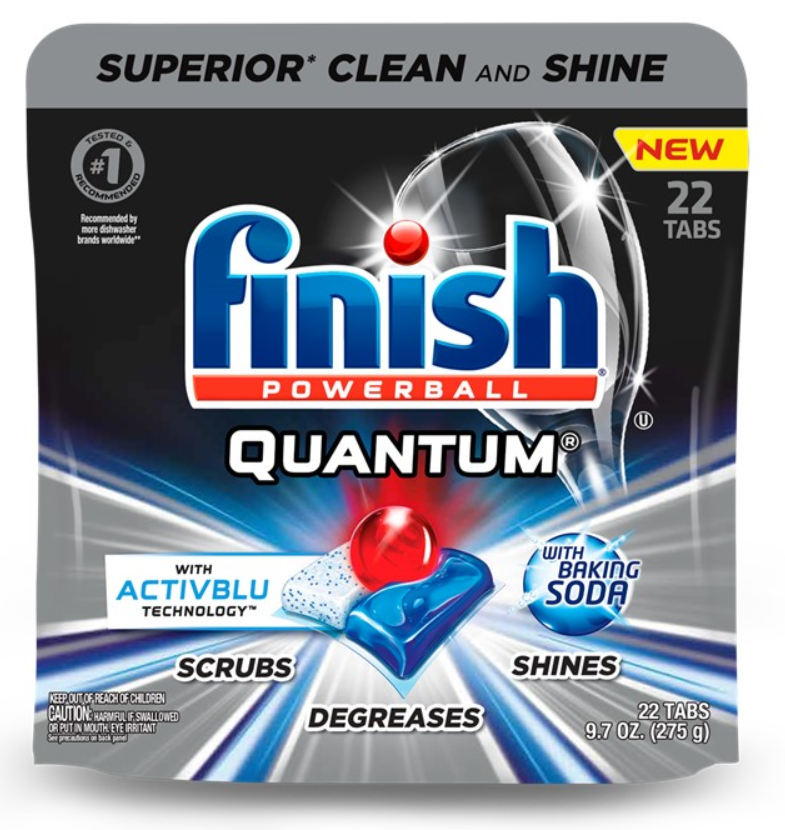FINISH® Powerball® Quantum® Tabs with Activblu Technology™ - Baking Soda