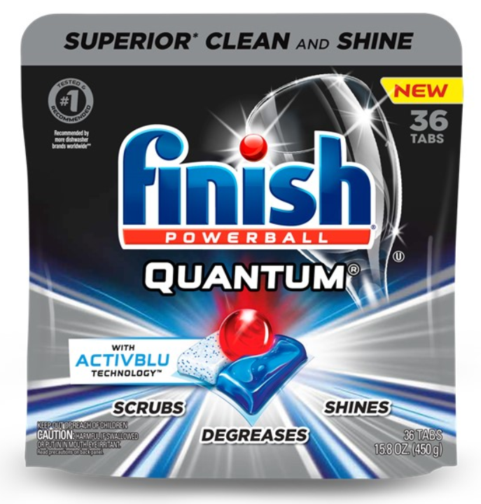 FINISH® Powerball® Quantum® Tabs with Activblu Technology™
