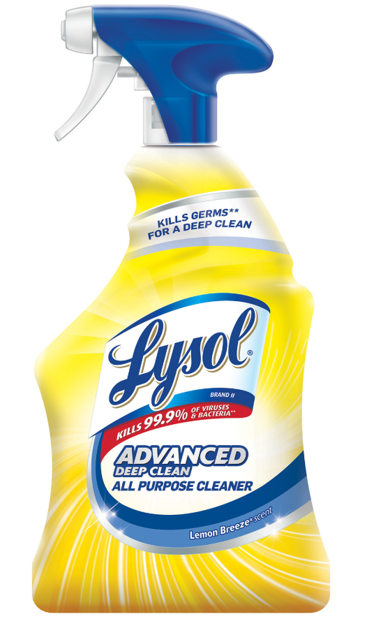 LYSOL® Advanced Deep Clean All Purpose Cleaner - Lemon Breeze
