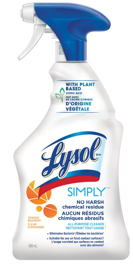 LYSOL® All-Purpose Cleaner - Simply - Orange Blossom (Canada)