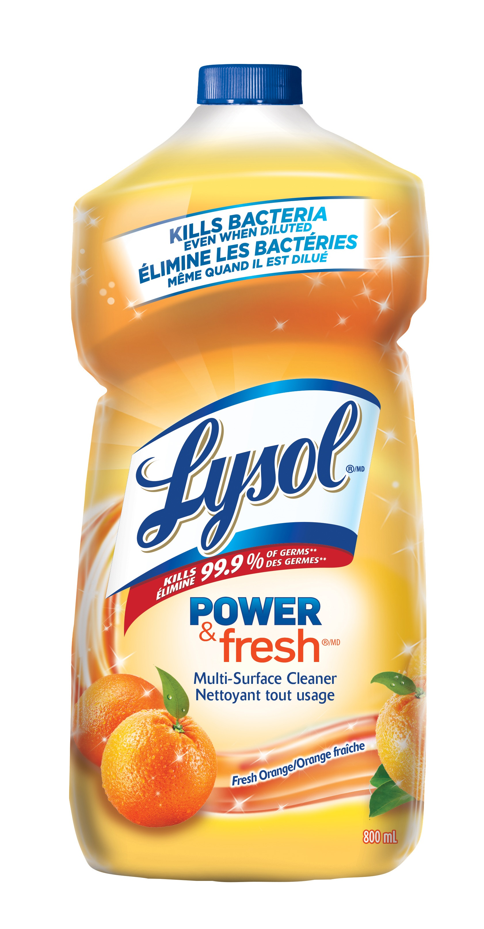 LYSOL® Power & Fresh® Multi-Surface Cleaner - Fresh Orange (Canada)