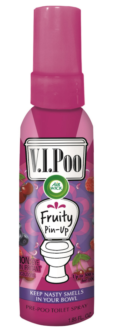 AIR WICK® VIPoo Pre-Poo Toilet Spray - Fruity Pin-Up (Canada)