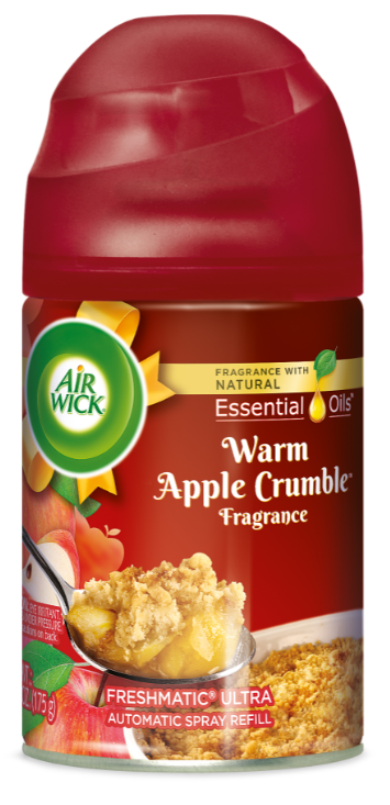 AIR WICK® FRESHMATIC Ultra - Warm Apple Crumble (Spread The Joy™)