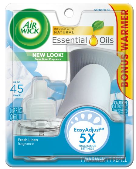 AIR WICK® Scented Oil Starter Kit - Fresh Linen