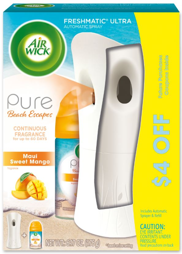 AIR WICK FRESHMATIC  Maui Sweet Mango  Kit Discontinued Photo