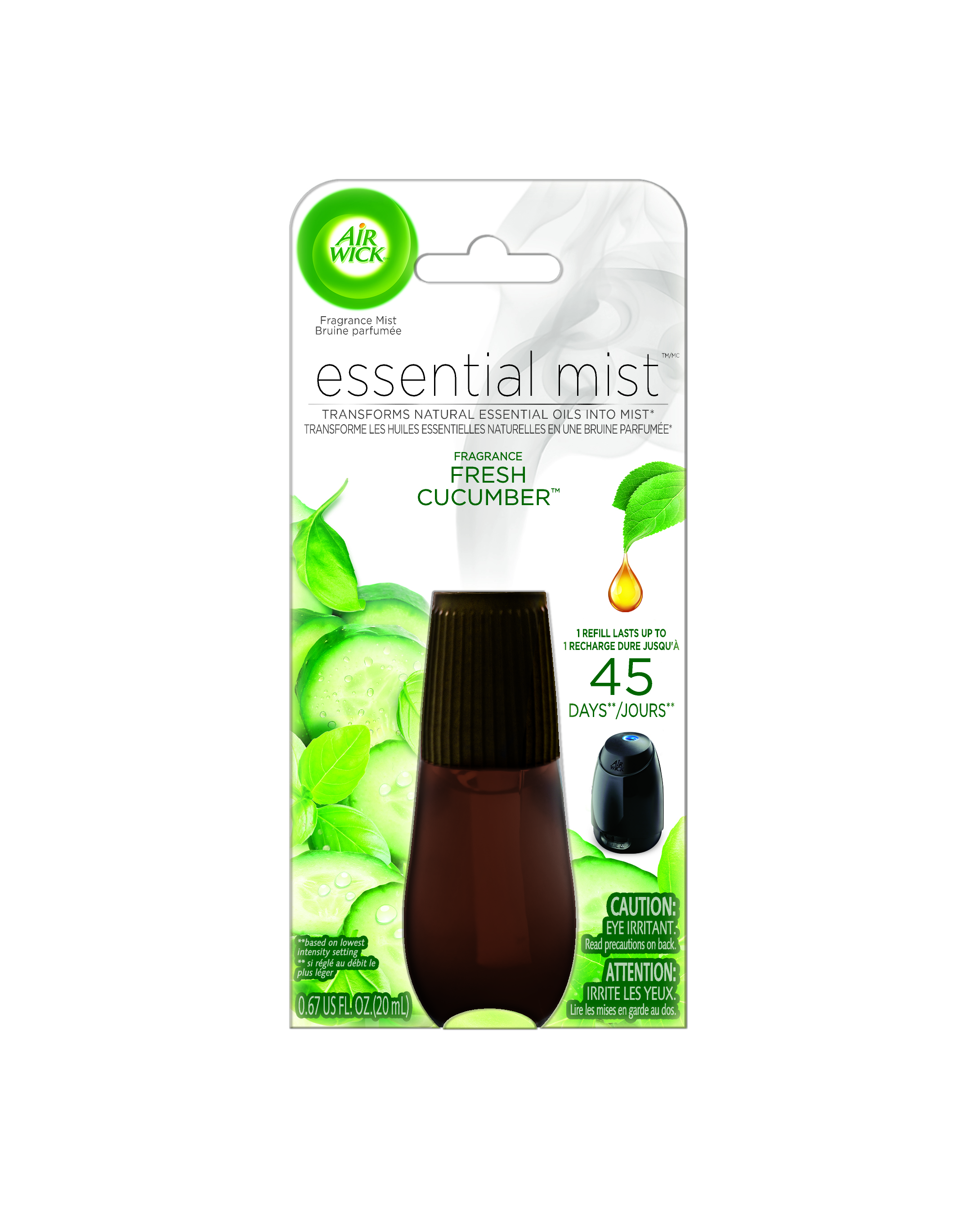 AIR WICK® Essential Mist - Fresh Cucumber (Canada)