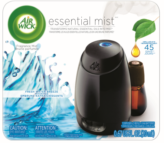 AIR WICK® Essential Mist - Fresh Water Breeze - Kit (Canada)