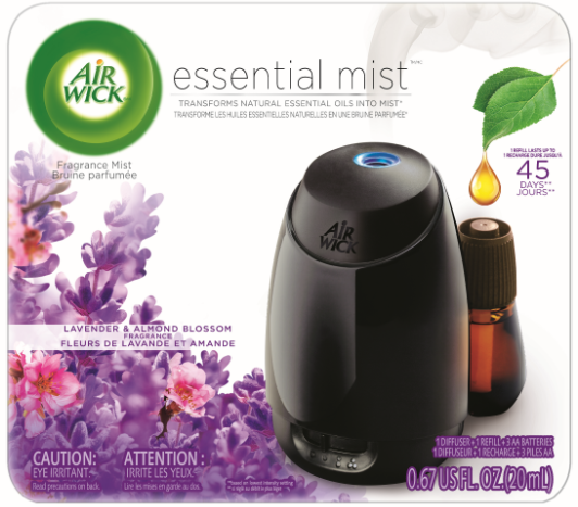 AIR WICK Essential Mist  Lavender  Almond Blossom  Kit Canada Photo